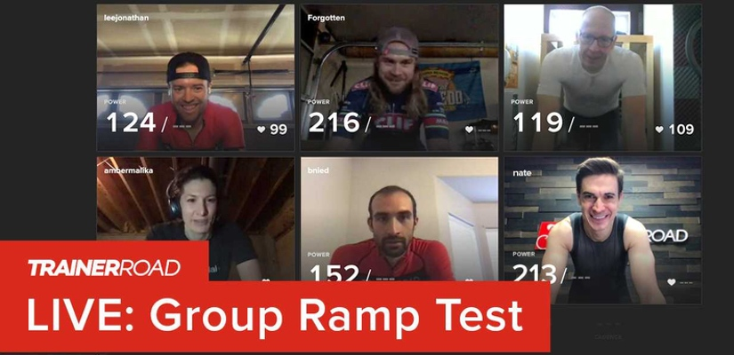 Introducing the Group Ramp Test