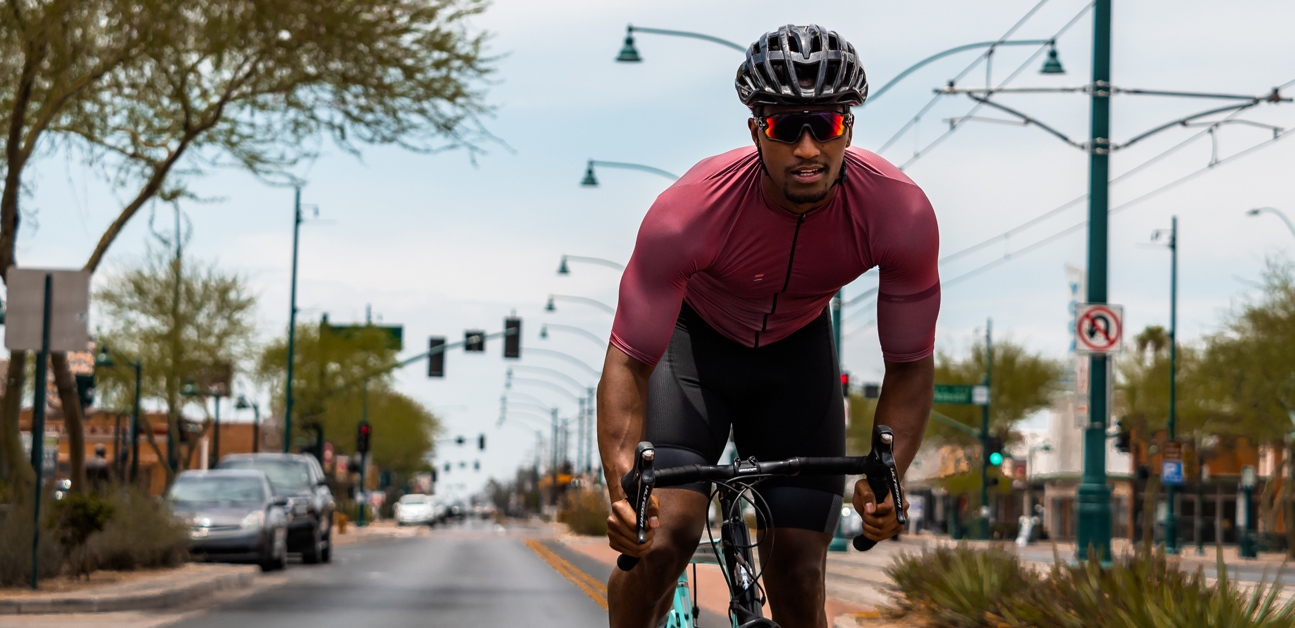 a man on a bike uses different energy systems for cycling