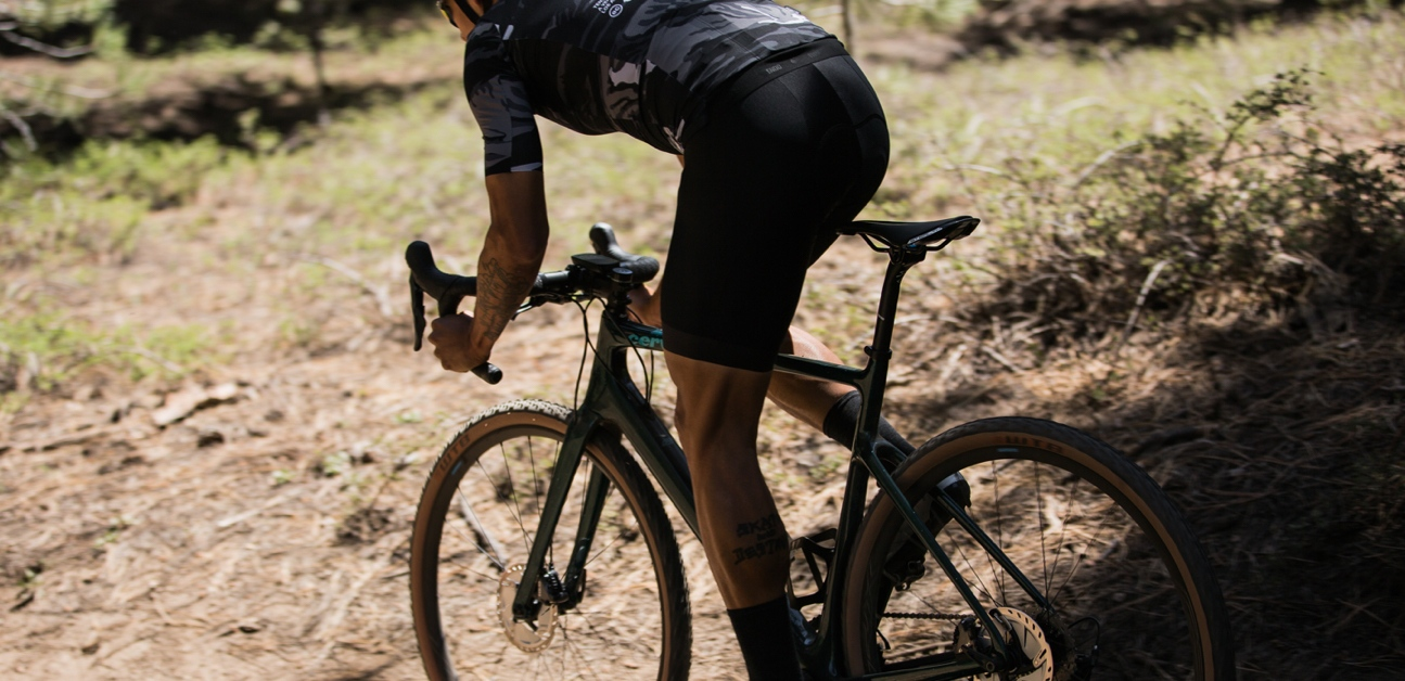 A cyclist using structured training to get faster