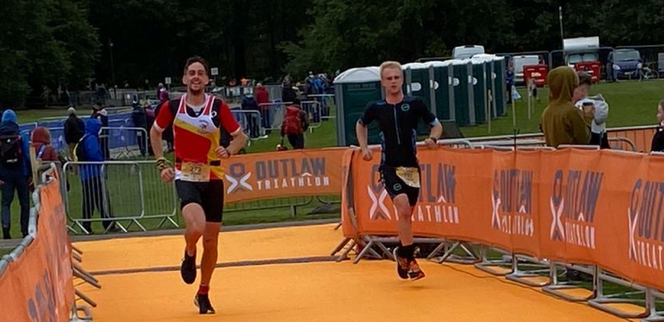 Triathlete and busy dad John Tarrant avoided injury with TrainerRoad to succeed in his first triathlon.